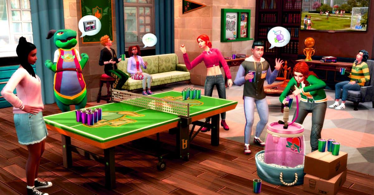 The Sims 4 Come Modificare I Dormitori Scopri L'università